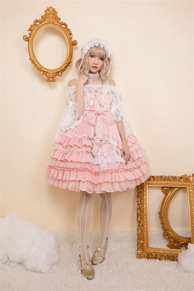 Holy Cross~ Elegant Lolita JSK Dress - My Lolita Dress