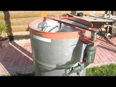 Самодельная электрическая медогонка из подручных материалов. - YouTube