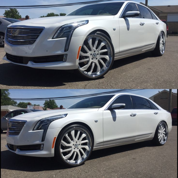 2017 CT6 Cadillac On 24's | Cars | Cadillac ct6, Cadillac ...