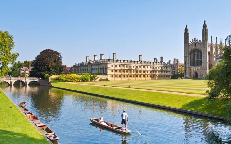 "You couldn't include Oxford without mentioning Cambridge. Visitors often particularly admire King's College Chapel and the picturesque river area known as the ""backs"", pictured (its name comes from the fact many colleges back onto the river).  Picture: eye35.pix / Alamy"