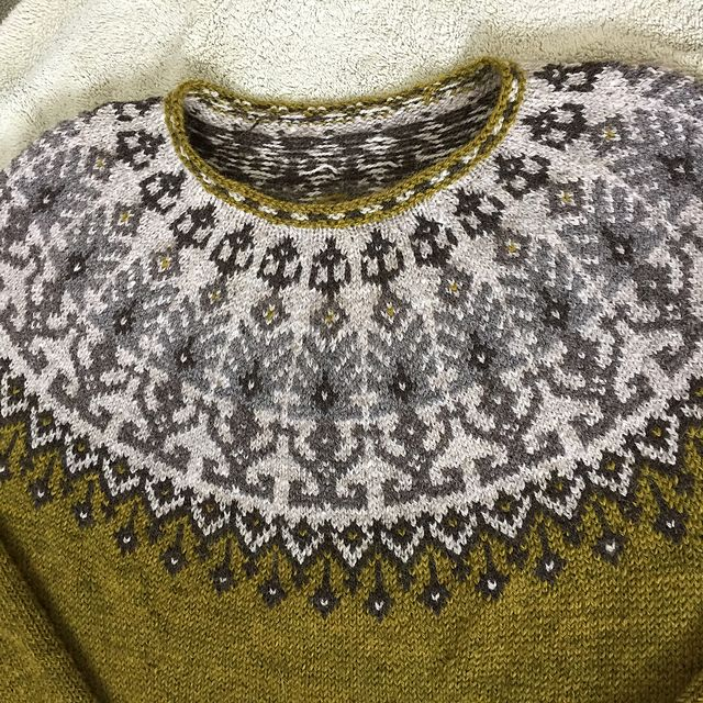 Ravelry: Distant shores pullover pattern by Iaroslava Rud
