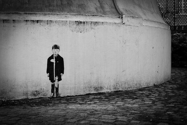 street art by menomale, via Flickr