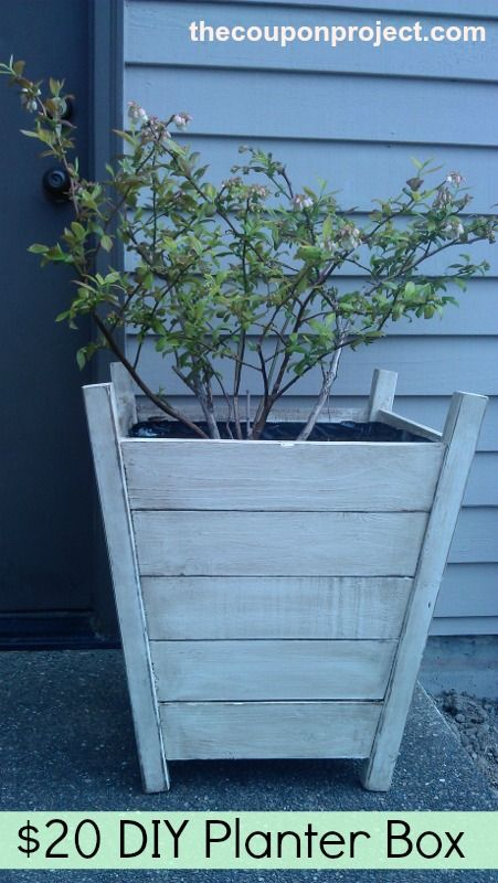 DIY Planter Box - complete with materials list and step-by-step build instructions.