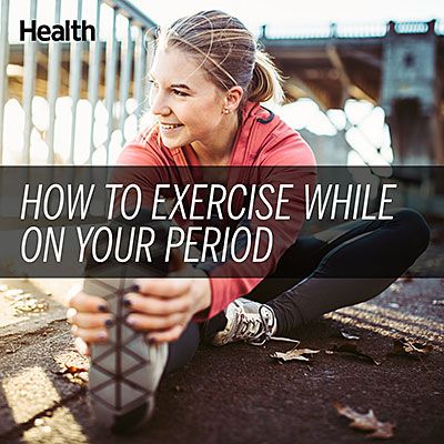Soothe period pain with these cramp-crushing exercises. | Health.com