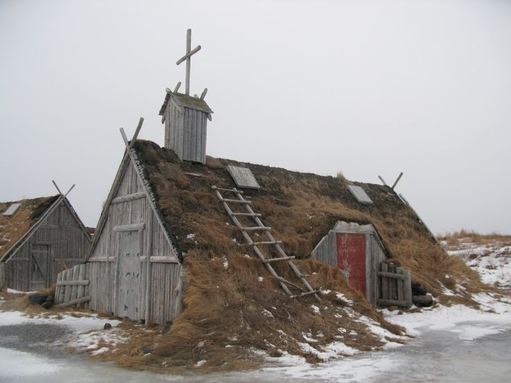 Viking Settlement, L'Anse aux Meadows, Newfoundland  church