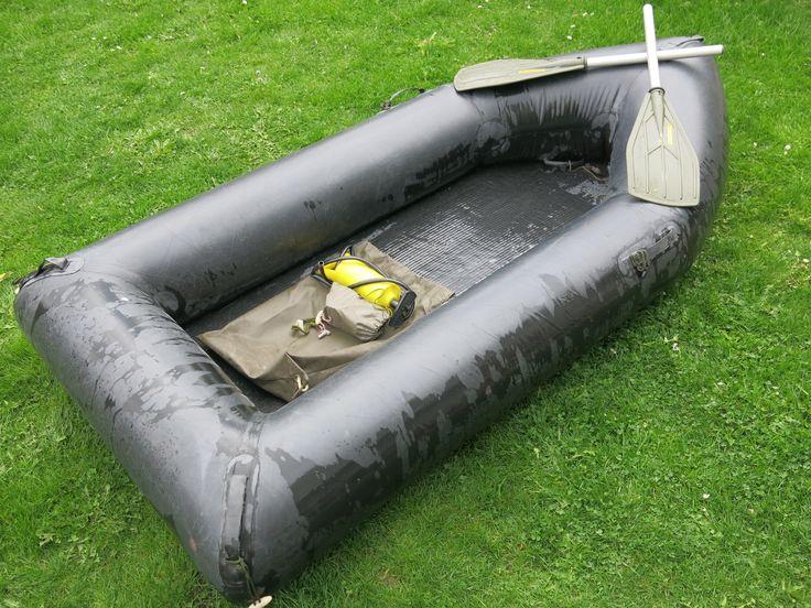 Schlauchboot/Angeln/See/Urlaub/Fun/Adventure/Bundeswehr/2-Mann Boot/Gummiboot