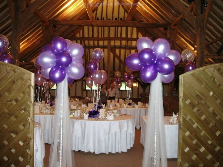Balloons Flowers And Venue Decor For