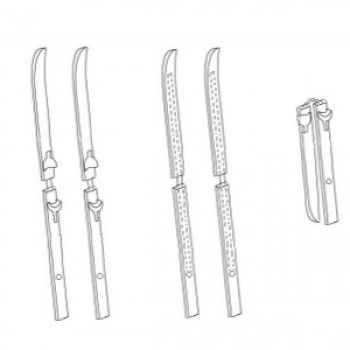 Avez-vous déjà entendu parler de skis pliables que l'on pourrait ranger dans un sac à dos? Il s'agit là d'un projet mené par une startup Toulousaine dénom