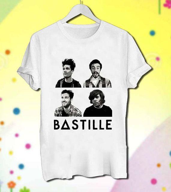 Bastille Band Four Personels Bastille Band Tshirt by PureOnez, $18.00