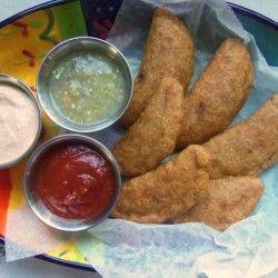Jalapeño Popper Mini Empanadas-salsas