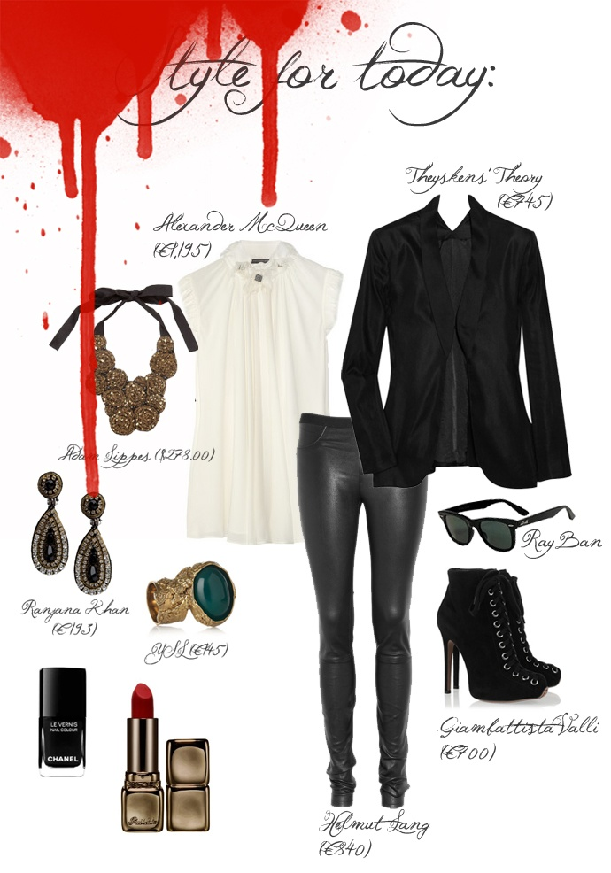 vampire outfit