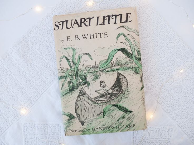 Vintage children's book: 'Stuart Little' by E B White, illustrations by Garth Williams - First edition - hard cover - 1973 by freshdarling on Etsy