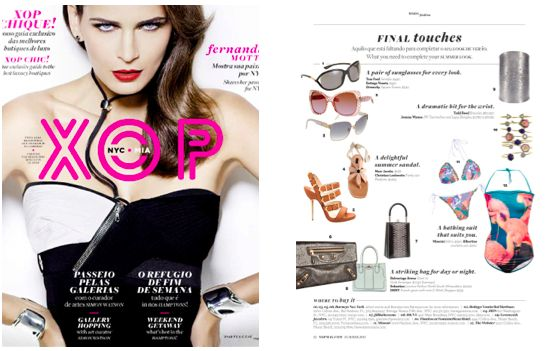 "Jill Haber's ""Sebastian"" featured in XOP Magazine! #jillhaber #xopmagazine #xop"