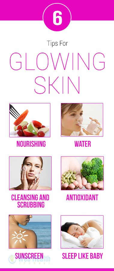 how to get glowing skin in 1 week