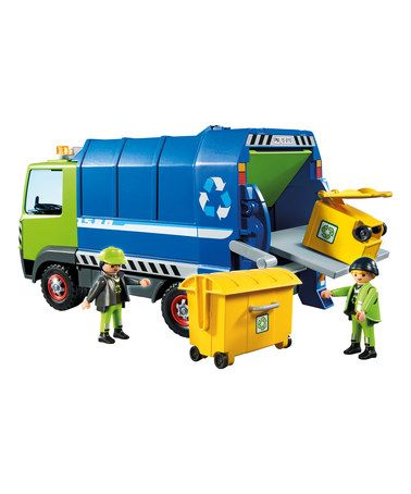 Another great find on #zulily! Recycling Truck Play Set #zulilyfinds