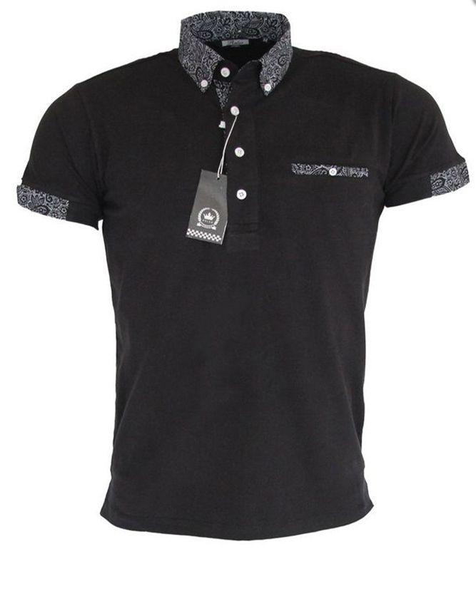 Polo Shirt Short Sleeve Black