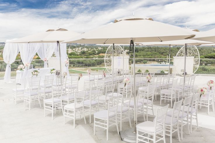 Ceremony set up at Corad Algarve | Passionate Photography
