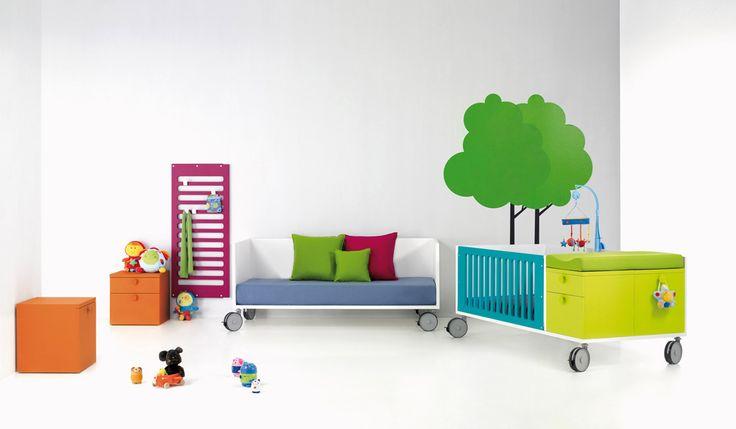 Dětský nábytek od BM | InterierMAG - interiéry, architektura a design