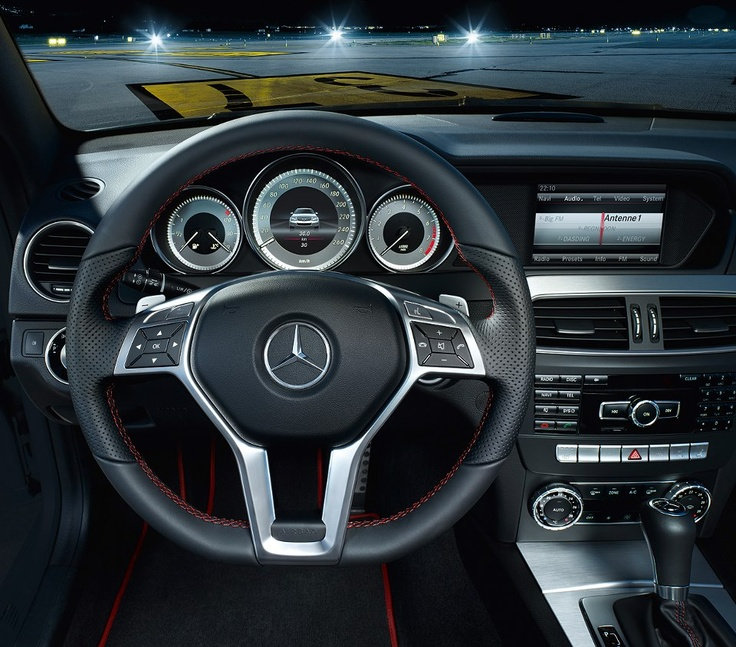 Mercedes-Benz C-Class 2013 with available Sport Package