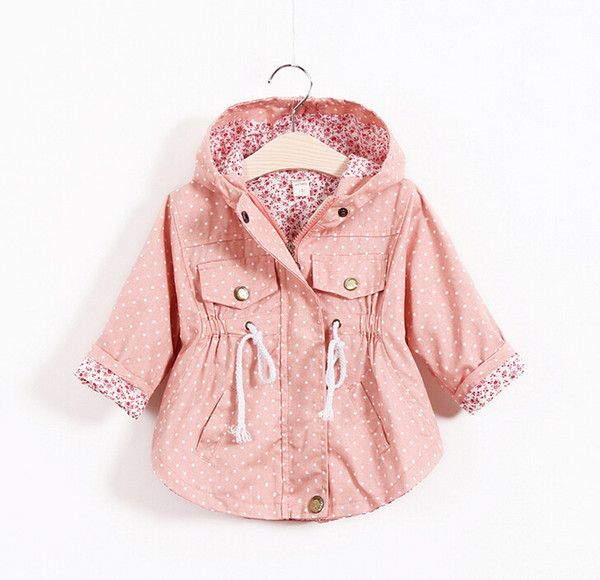 Wholesale Free Shipping Autumn Jackets For girls New 2015 Korean version Brand Fashion Polka Dot Bat shirt Coat 5pcs/lot Children Hoodies, Free shipping, $13.44/Piece | DHgate Mobile