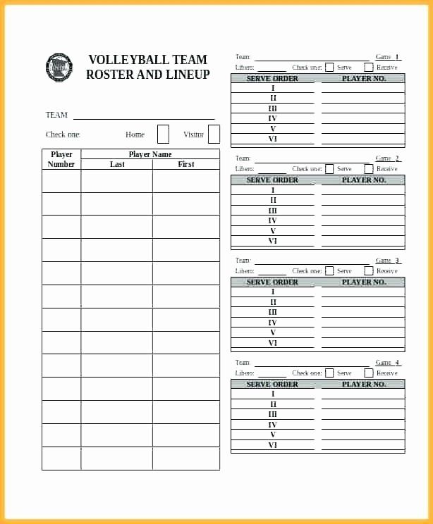 Soccer Player Cards Template Luxury Blank Roster Sheet Aoteamedia Soccer Players Player Card Templates