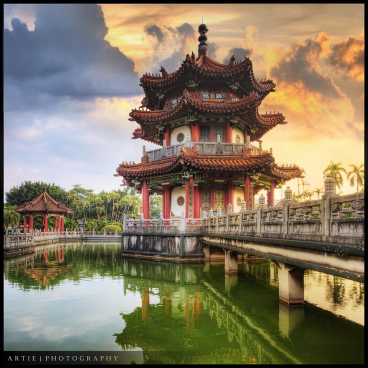The Chinese Pagoda at 228 Peace Park in Zhongzheng District, Taipei, Taiwan :: HDR | Flickr - Photo Sharing!
