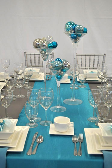 1000 Images About Aa Blue Turquoise Tablescapes Weddings