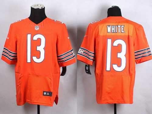 mens chicago bears kevin white 2015 nfl draft overall pick nike orange elite jersey jerseys orange n