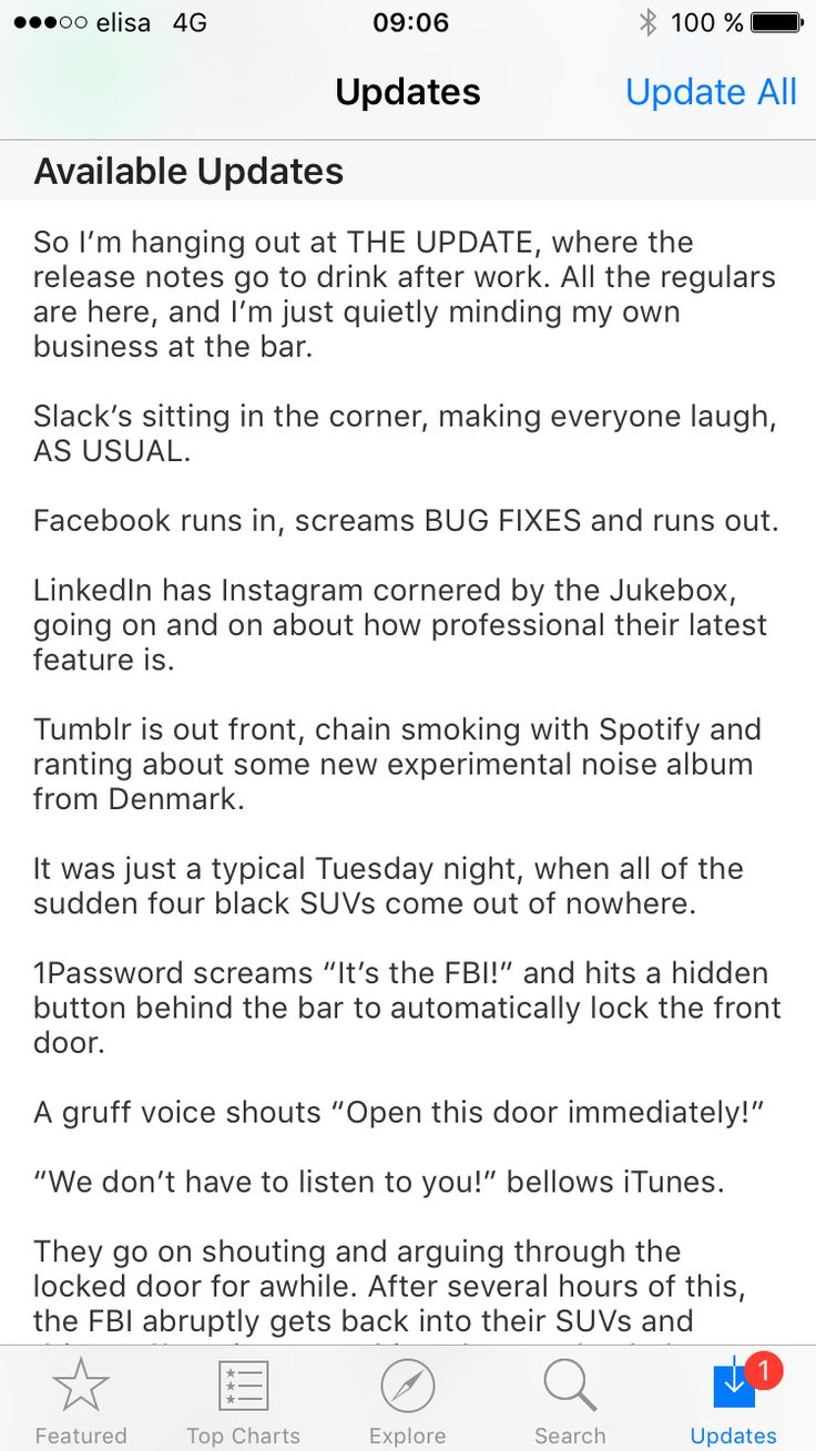 Medium has the most interesting release notes #GoodUX