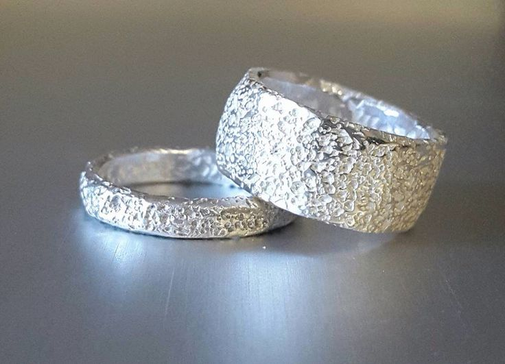 925 recycled silver rings