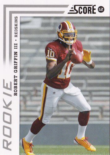 2012 Score Football Mint Rookie Year Card 368 Robert Griffin M (Mint)  https://allstarsportsfan.com/product/2012-score-football-mint-rookie-year-card-368-robert-griffin-m-mint/  Robert Griffin III 2012 Score Football Mint Rookie Year Card #368 Shipped in a Protective Screwdown Case! One of the First Cards Made of This Washington Redskins Future Star Quarterback! Questions regarding this or any of our other items? Please go to our storefront for contact information – ama