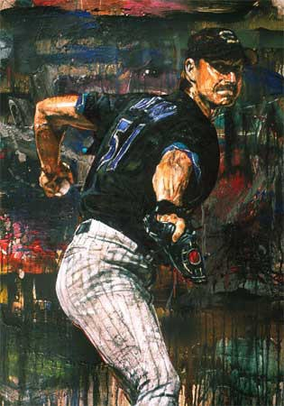 Randy Johnson, Painted by Stephen Holland
