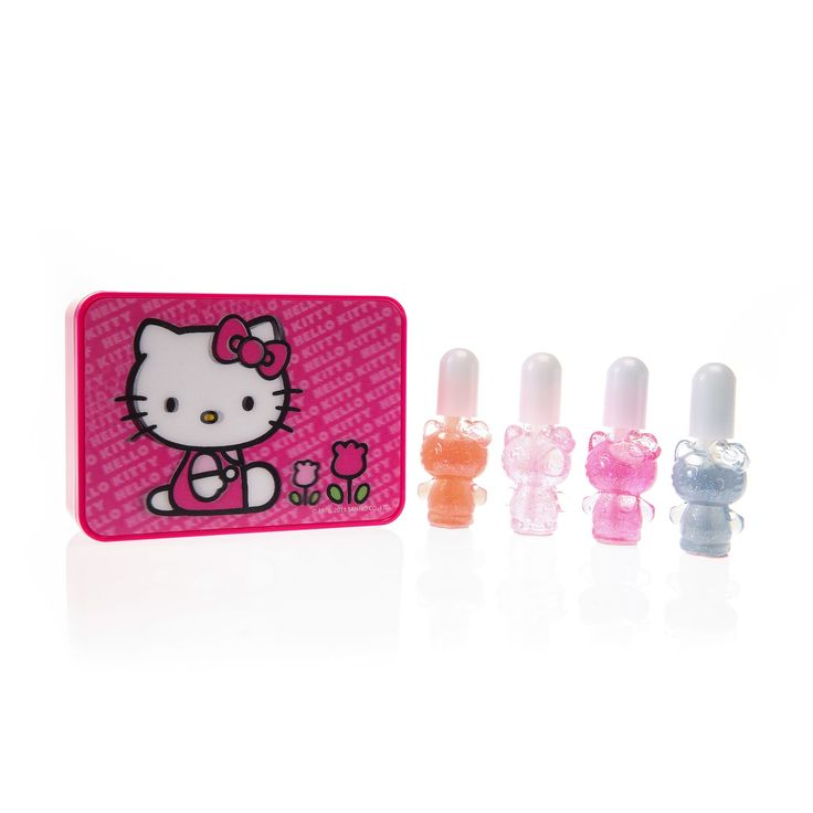 Lot de 4 vernis à ongles Hello Kitty, Maquillage, Ongles, tous, Maquillage, Ongles, Maquillage, Marques, Hello Kitty, Personnages, Enfants, ...