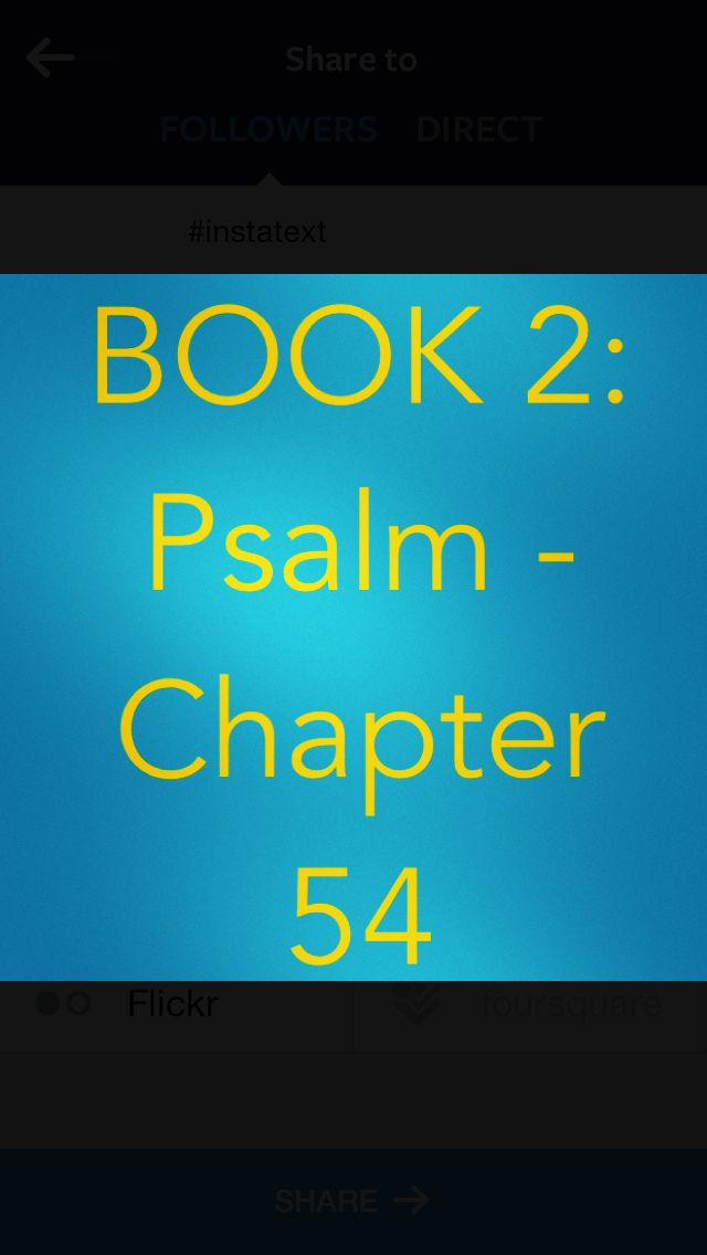 Bible Devotion: BOOK 2 - Psalm 54 Theme: A call for God to overcome enemies. God is our helper, even in times of hurt & betrayal.  Author: David  Verses I highlighted: Psalm 54:1, 2 http://bible.com/111/psa.54.1.niv  * David said that God repays evil to his enemies. Proverbs 26:27 warns that those who cause trouble will reap trouble. What we have intended for others may blow up in our own faces. To be honest and straightforward before God and others is simpler, easier, and safer in the long…