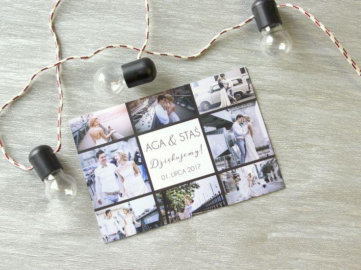 Oryginalne podziękowanie dla gości na magnesie lub kartce. Sprawdź szablony na magnetcards.de