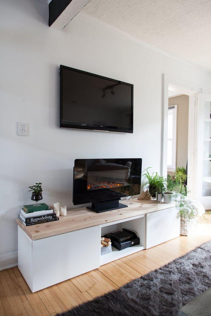 Best 25 Tv Fireplace Ideas On Pinterest Family Room