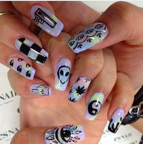 Gel nails nail technology
