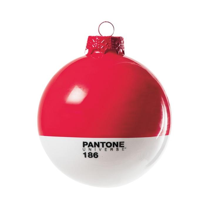 Pantone Ruby Holiday Ornament   Cooper-Hewitt Shop