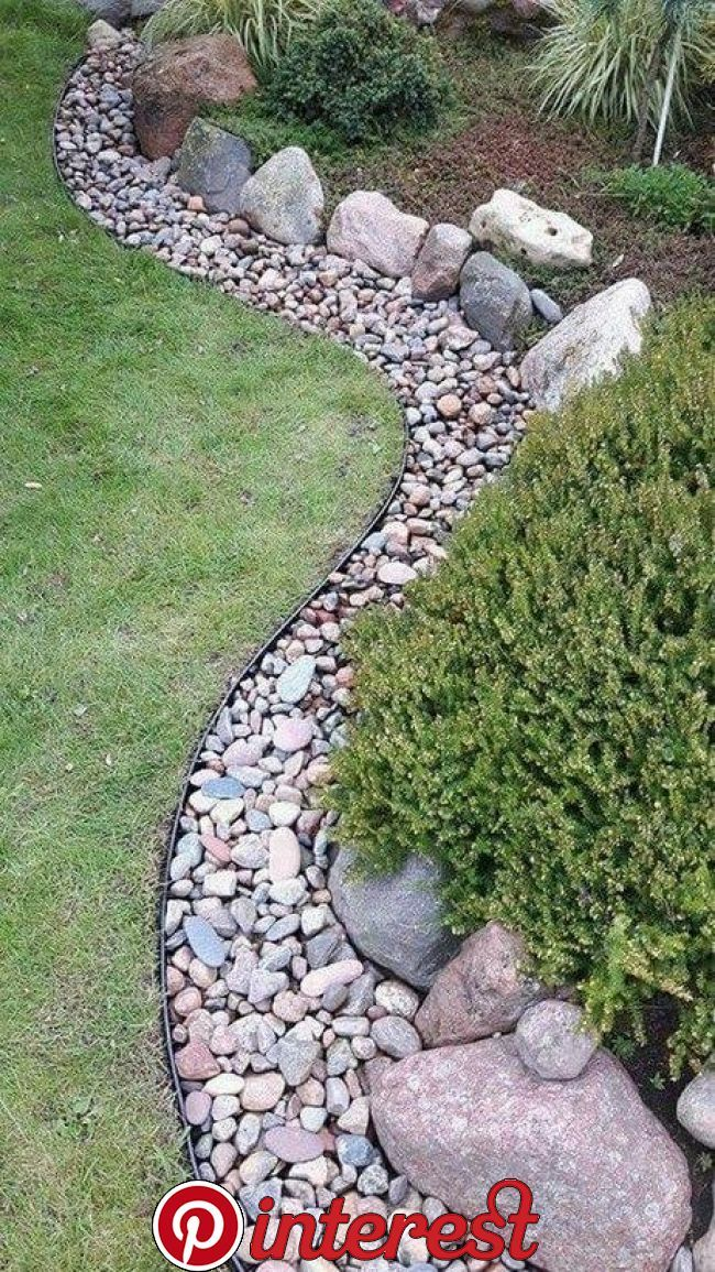 35 Easy And Low Maintenance Front Yard Landscaping Ideas Desing Rock Garden Landscaping Rock Garden Design Front Yard Landscaping