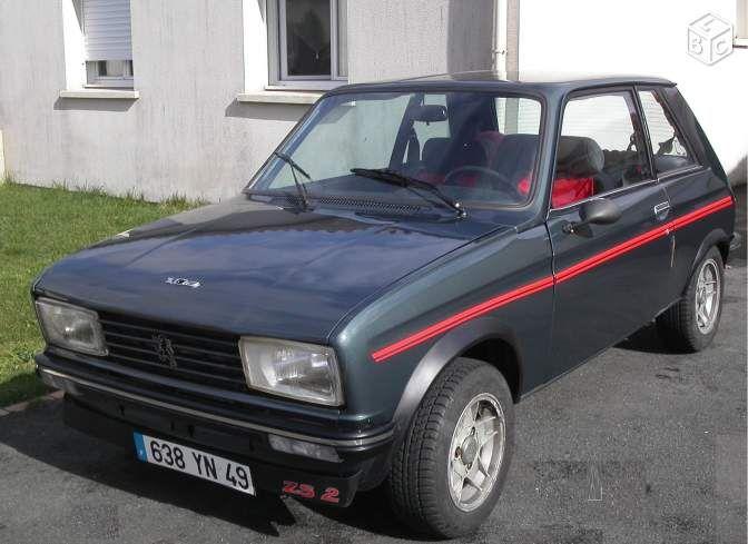 Peugeot 104 ZS2 Voitures Maine-et-Loire - leboncoin.fr