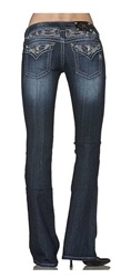 harley davidson clothing for women | Harley-Davidson Womens Miss Me Northern Lights Boot Cut Jeans