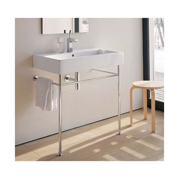 Lavabo et pi tement duravit vero salle de bains for Duravit salle de bain