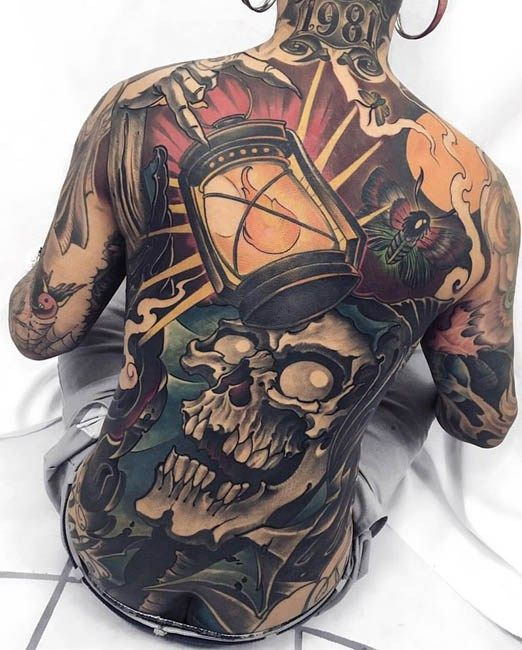 Back piece by Fibs.