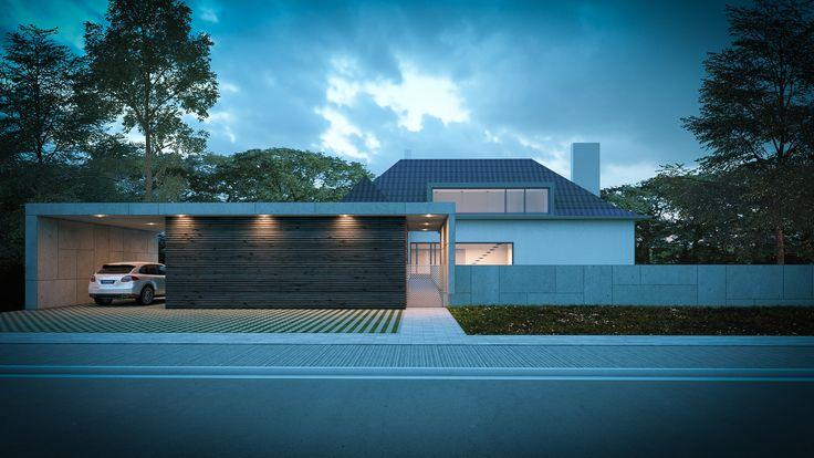 Extension d'une maison unifamiliale. Architecte: Blow Architectes www.blow-archi.be Image: www.perspectif.be