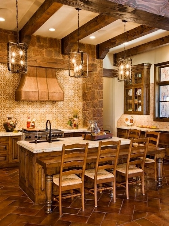 Spanish influence kitchen texas hill country decorating for Hill country design