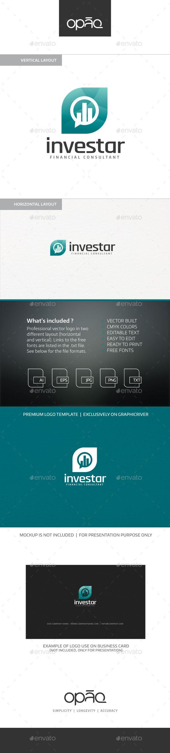 Investar Logo - Symbols Logo Templates Download here : https://graphicriver.net/item/investar-logo/18666892?s_rank=121&ref=Al-fatih