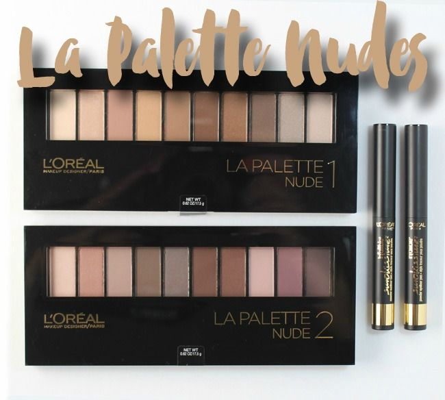 Must have eyeshadow for your beauty collection: L'Oreal Paris La Palette Nude + Smokissime Eyeliner