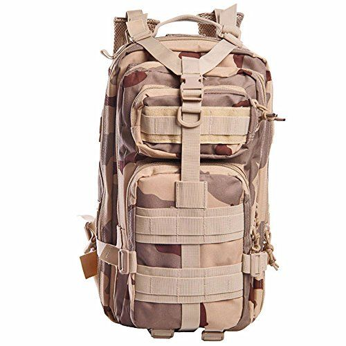 25L Military Tactical Backpack Large Army 3 Day Assault Pack Out Bag Backpack Rucksacks for Outdoor Hiking Camping Trekking Hunting 8 >>> Click image for more details.(This is an Amazon affiliate link and I receive a commission for the sales)