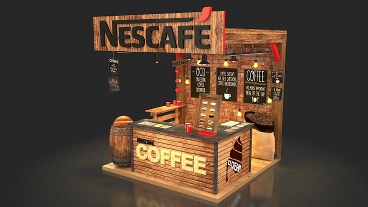 Nescafe Coffee Booth on Behance                                                                                                                                                                                 More