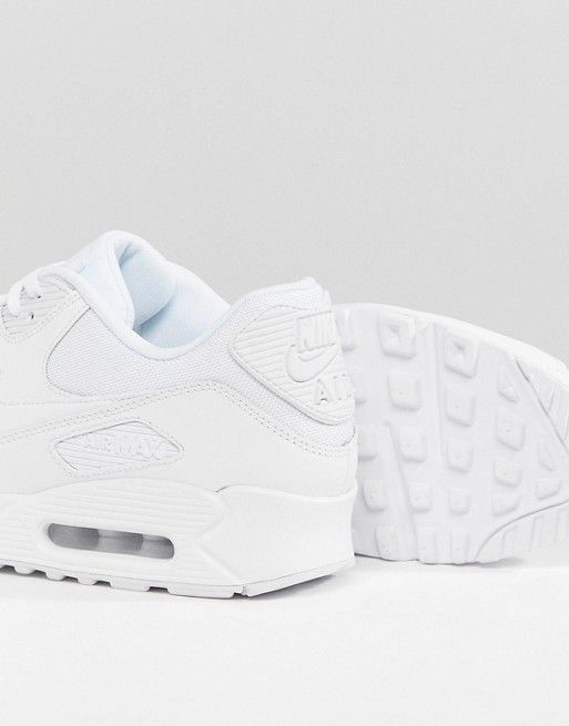 new concept 52e84 e53bd Nike   Nike - Air Max 90 Essential - Baskets 537384-111 - Blanc